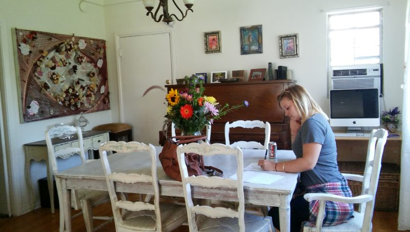 dining room at Susan's House